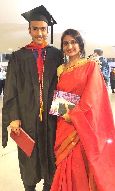 Graduation Announcement - Jimit Bharatbhai Gohil